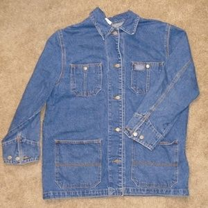 Ralph Lauren Jeans Co. Denim Jean Work Jacket Coat